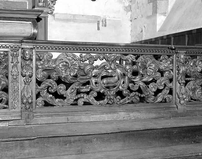 Clôture de choeur (table de communion)