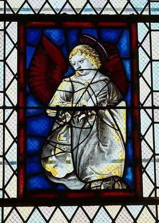 Panneau de verrière : ange (baie 2)