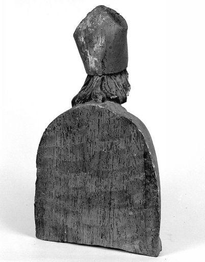 buste-reliquaire de l'ancien retable du maître-autel : saint Eutrope
