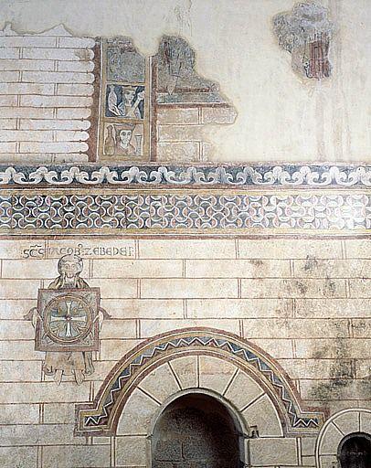 peintures monumentales du choeur (ensemble des peintures monumentales)