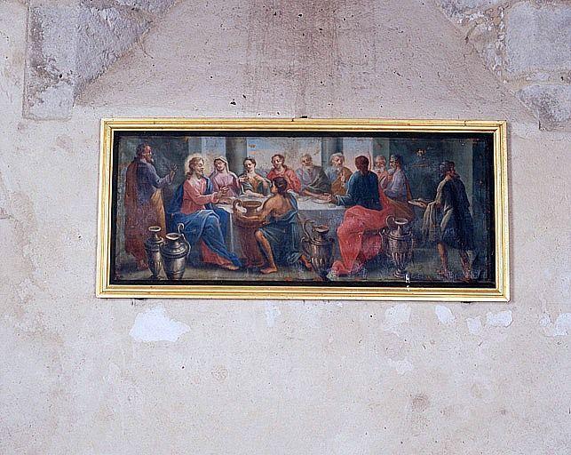 Tableau : les Noces de Cana (ensemble du décor intérieur)