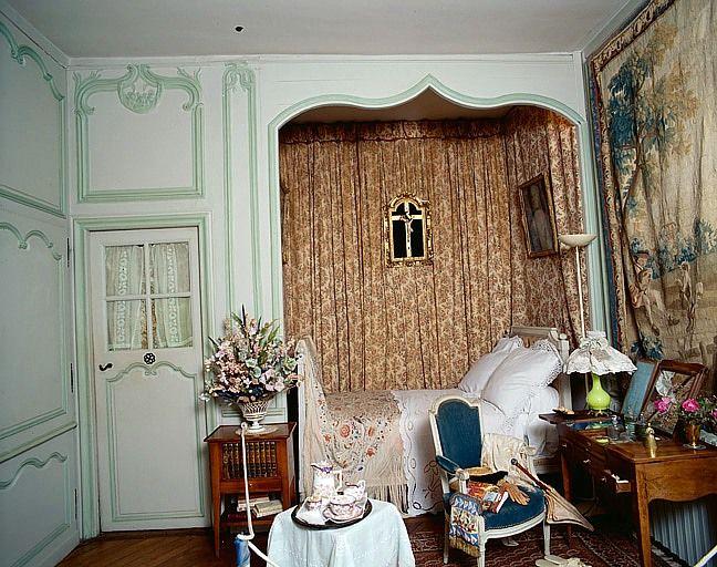 Lambris de revêtement de la chambre de George Sand