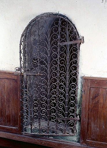Vantail (grille de niche)