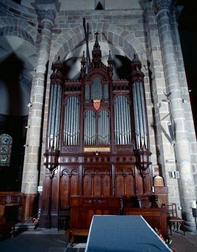 partie instrumentale de l'orgue de choeur