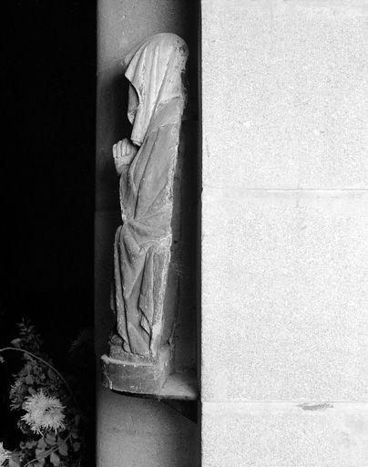 Statuette : Vierge de douleur dite Notre-Dame des Sept Douleurs