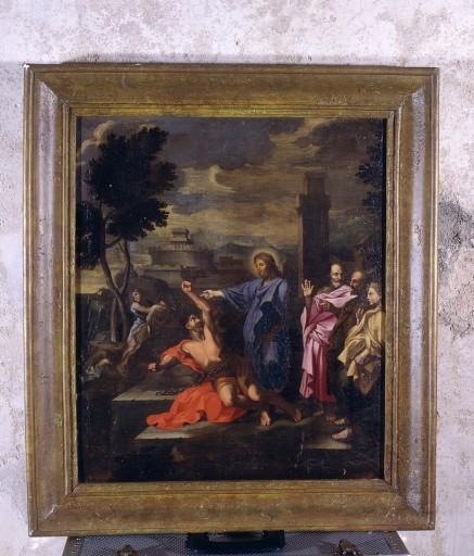Tableau : Jésus guérissant un possédé
