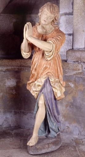2 statues de retable : anges