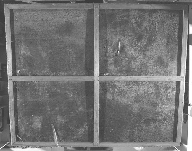 tableau, cadre : l'agonie du Christ au jardin des Oliviers