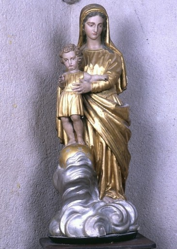 Statue : Vierge à l'Enfant dite Notre-Dame des Victoires