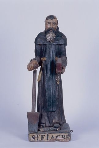 statue : saint Fiacre