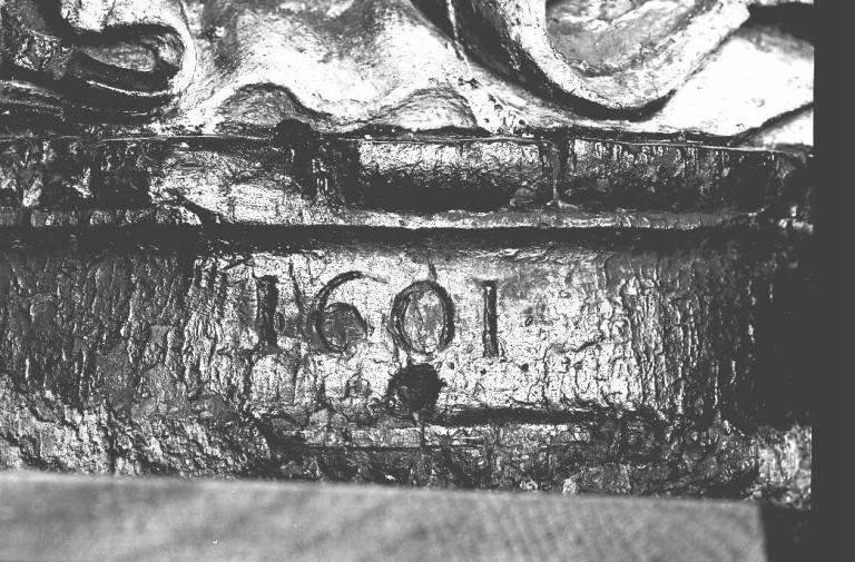 Groupe sculpté : Trinité ou Binité