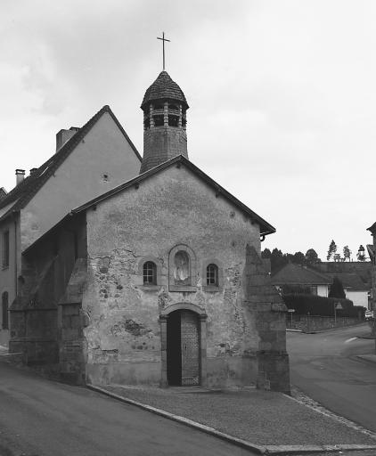 Chapelle du deuxième hôtel-Dieu, puis chapelle de pénitents bleus de l'Assomption-de-la-Vierge dite chapelle bleue