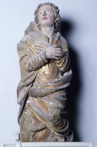 Statue : saint Jean l'Evangéliste (élément de Calvaire)