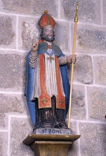 statue : saint Bonnet