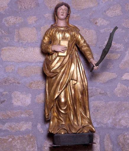 statue : sainte Catherine d'Alexandrie ?