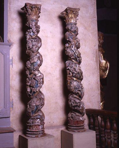 2 colonnes torses