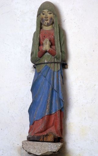 Statue (petite nature) : Vierge