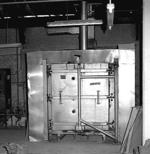 machine à convertir n° 2 : four-cellule à émail