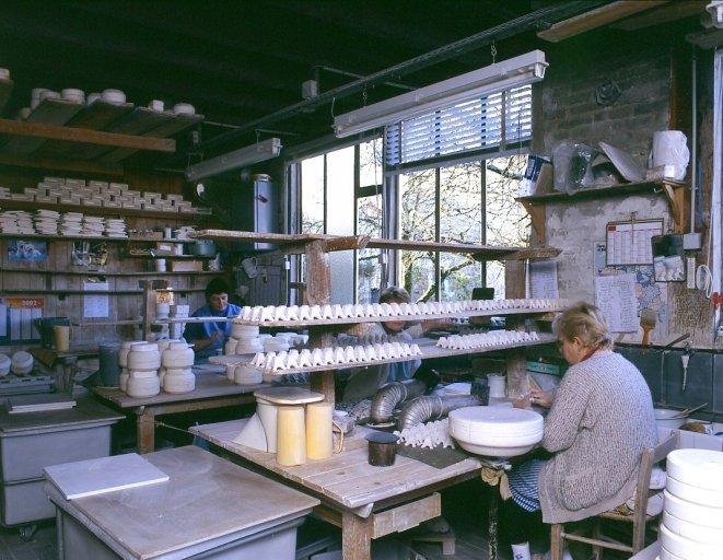 Usine de porcelaine Mousset et Cie, puis Cloups, puis Laplagne
