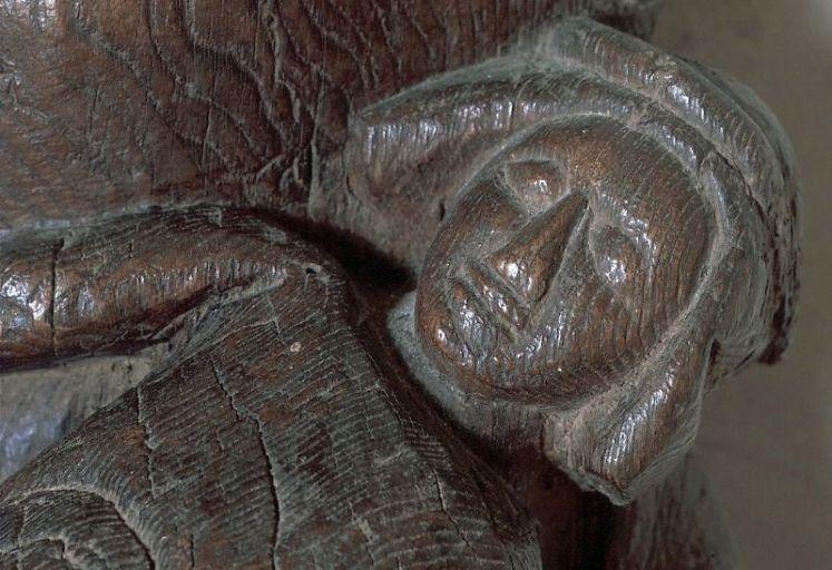Groupe sculpté : Vierge de Pitié, dite Vierge à l'Enfant