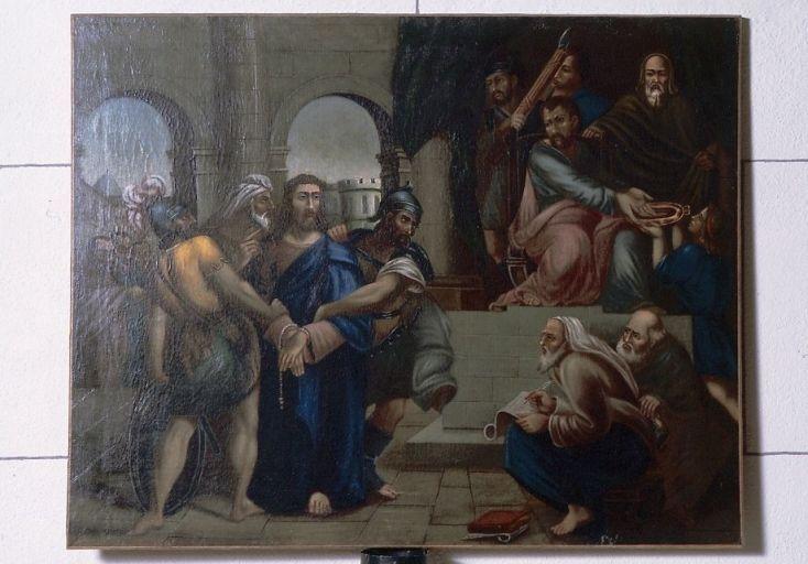 tableau : Jésus devant Pilate