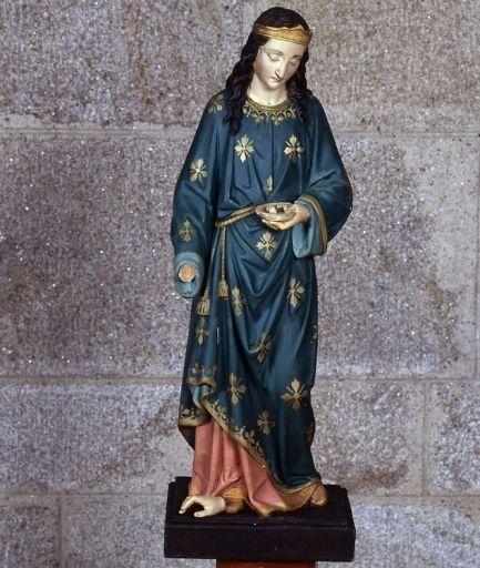 Statue : sainte Lucie