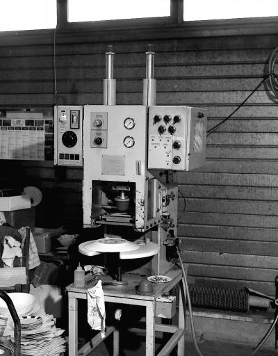 Machine à imprimer par tampographie