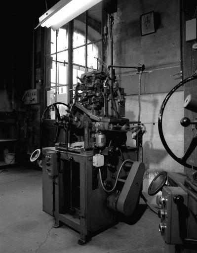 3 machines à mouler : machines à fondre les caractères
