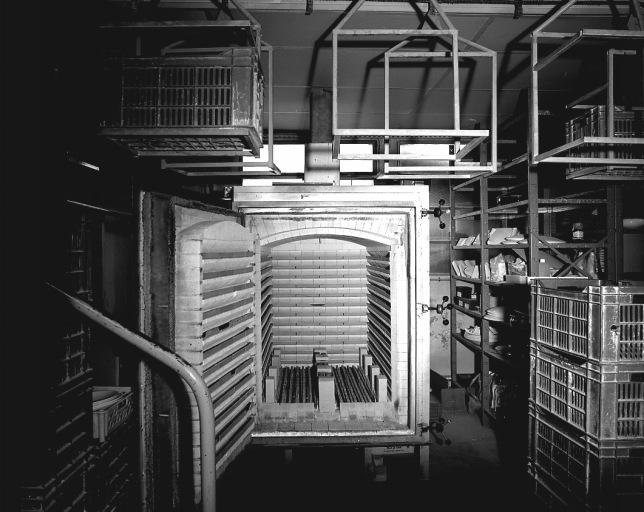 machine à convertir n° 6 : four-cellule à décors