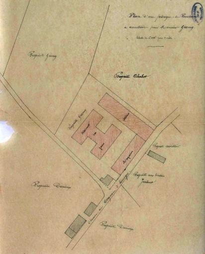 usine de porcelaine Guerry et Delinières, puis Bernardaud et Cie