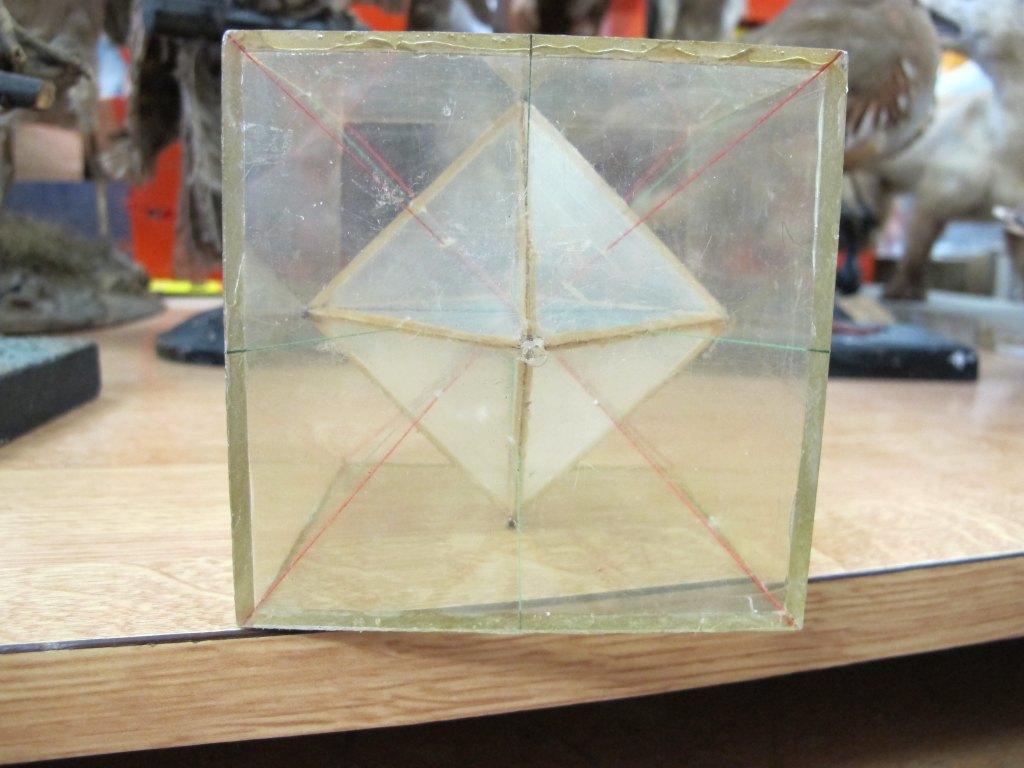 ensemble (11) de la collection de cristallographie