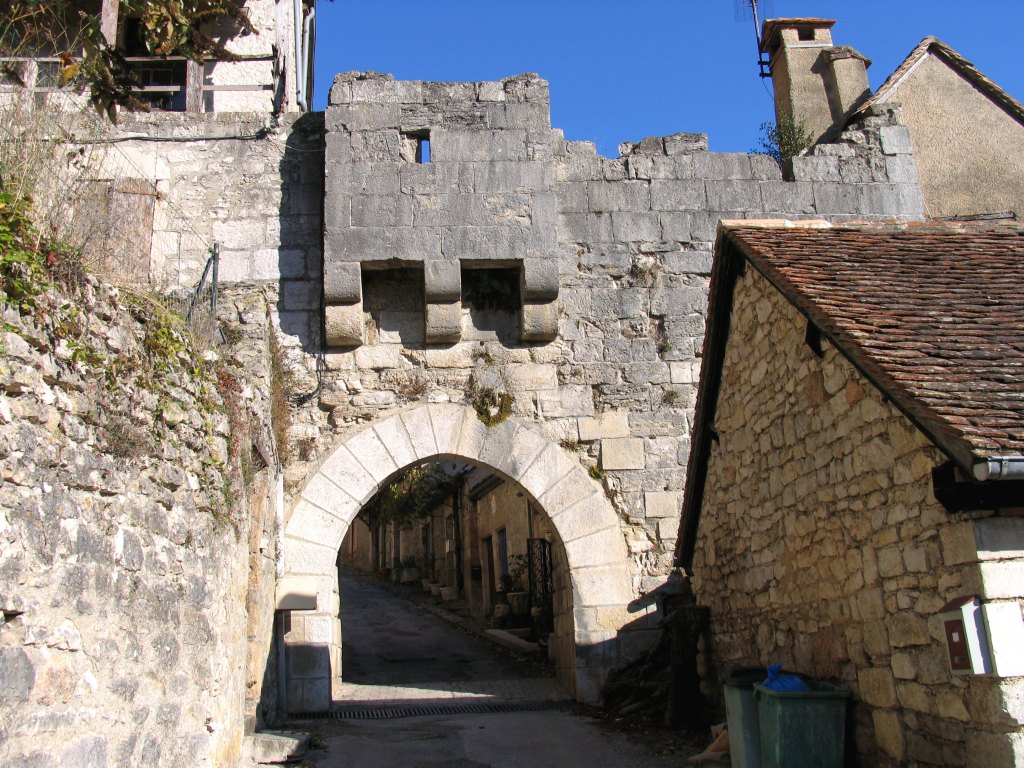 Porte de ville dite Porte Basse, ou dite Porte du Fond du Coustalou ou du Fond de la Ville