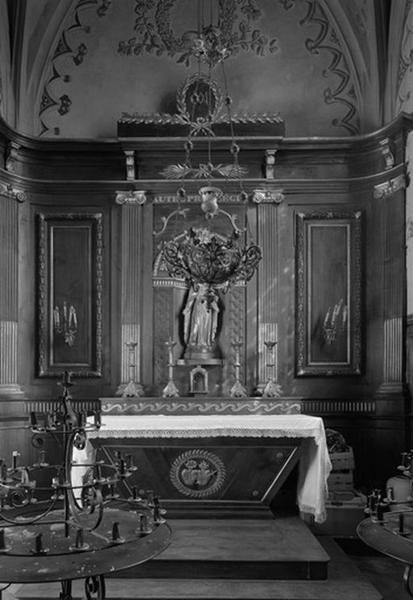 Ensemble du décor de la chapelle Notre-Dame
