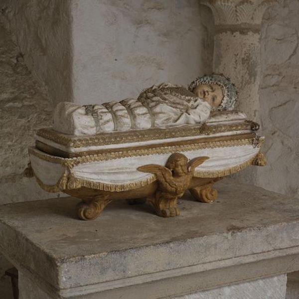 Statuette : la Vierge enfant