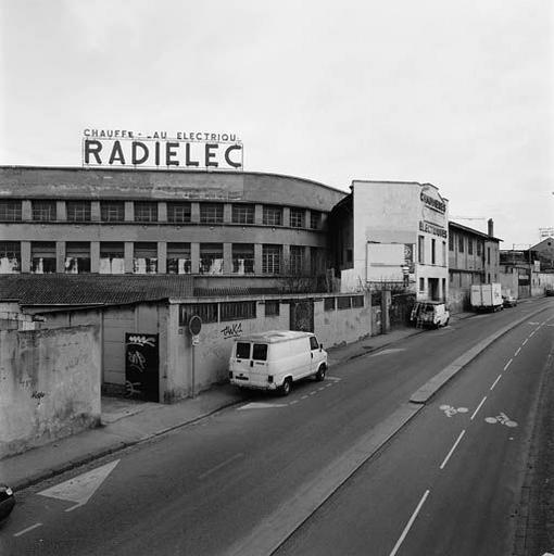 Usine de construction électrique Thivolet puis Radielec