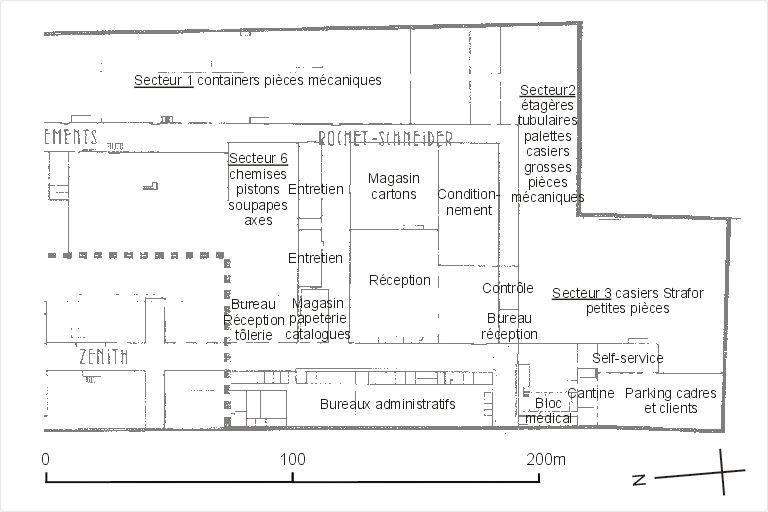 Usine de construction automobile dite Rochet-Schneider-Zénith, puis Marius Berliet actuellement Renault Véhicules Industriels.