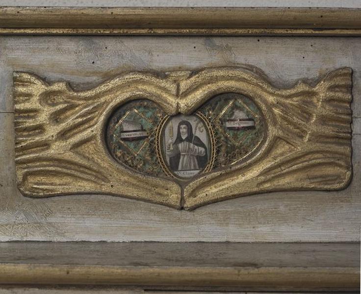 Autel (ancien maître-autel ?), gradins d'autel-reliquaires