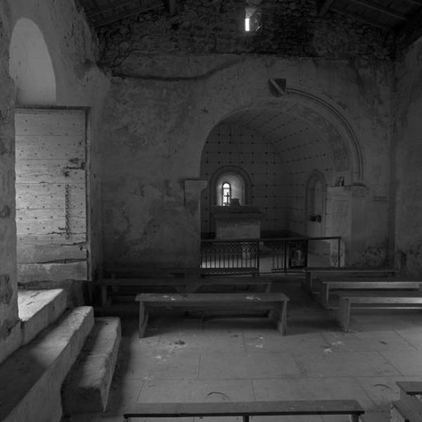Le mobilier de la chapelle Saint-Etienne