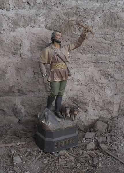 Statue : saint Isidore le Laboureur