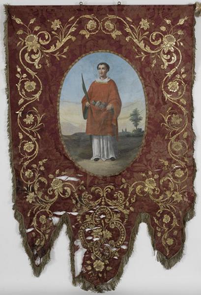 Bannière de procession de saint Etienne (n°2)
