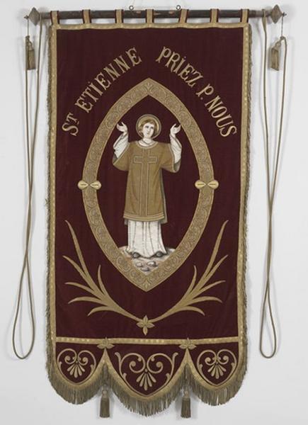 Bannière de procession de saint Etienne (n°3)
