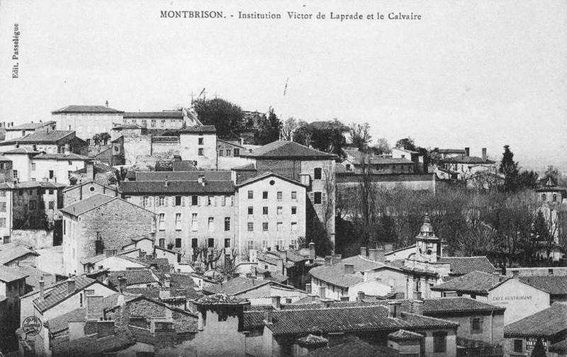 Ancien couvent d'Ursulines, actuellement Collège Victor-de-Laprade