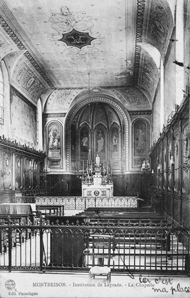 Chapelle Sainte-Ursule, actuellement chapelle du collège Victor-de-Laprade