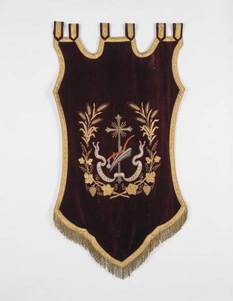 Bannière de procession de saint Isidore