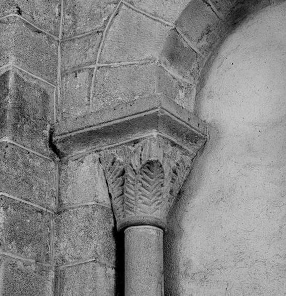 Ensemble des 8 chapiteaux du transept