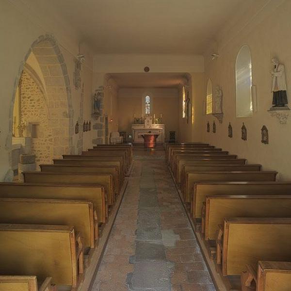 Église paroissiale Sainte-Croix ; autel de la Vierge (maître autel)