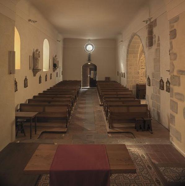 Église paroissiale Sainte-Croix ; fonts baptismaux
