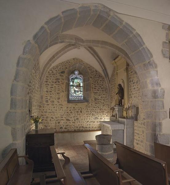 Ensemble de l'autel de la Vierge (chapelle)