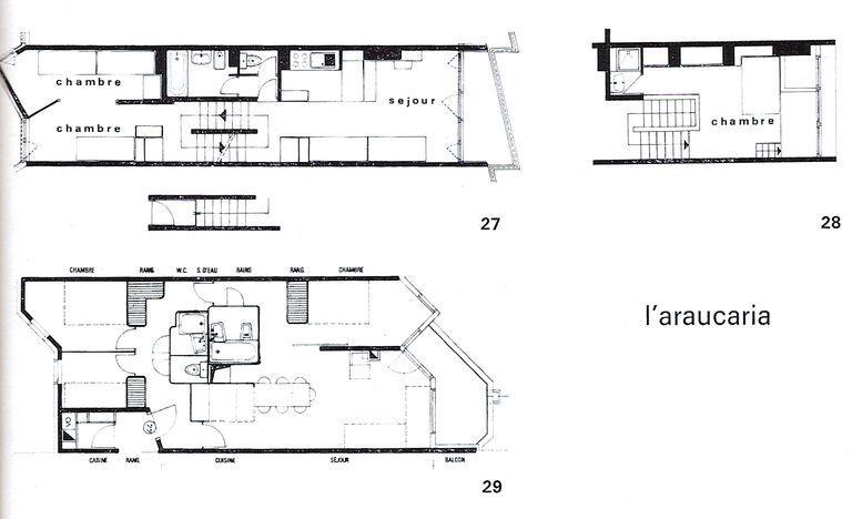 Immeuble dit résidence Araucarya