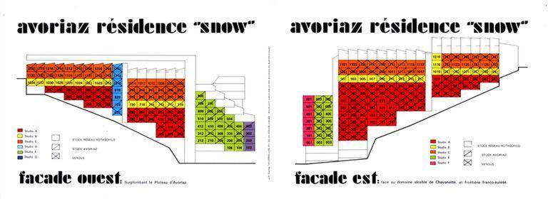 Immeuble dit résidence le Snow